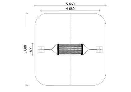 Šūpuļtīkls BAT2