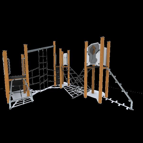 Rotaļu komplekss bez slidkalniņa HT408