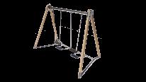 HT608 Double swings