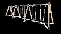 HT610 Six-seater swings