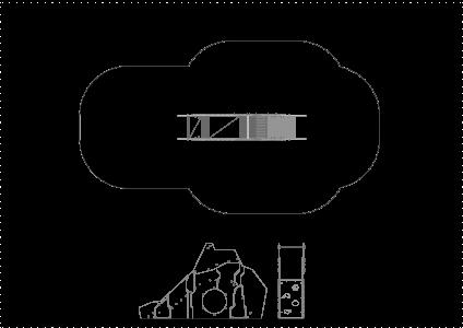 HT904 Slidkalniņš ar līšanas tuneli
