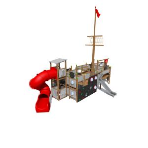Rotaļu komplekss kuģis K3