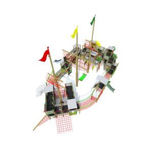 Rotaļu komplekss kuģis K4