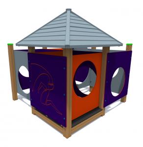 Labirints ar mājiņu RLB