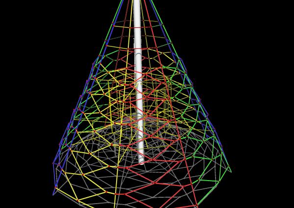 Virvju piramīda SC Maxi