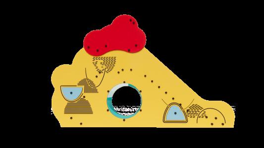 SE904 Slidkalniņš ar līšanas tuneli