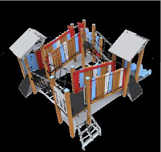 Rotaļu komplekss SEA305