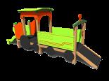Rotaļu lokomotīve V1