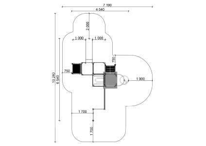 Rotaļu komplekss BRL1003