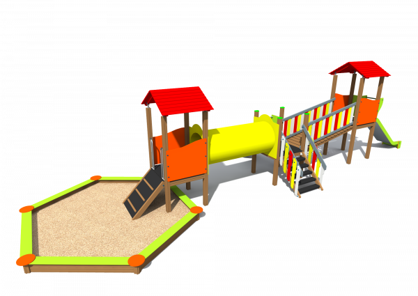 Playground with sandbox BRL3001