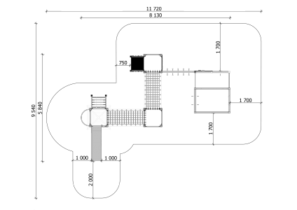 Rotaļu komplekss BRL32 VE3
