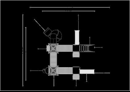 Rotaļu komplekss BRL43
