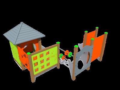 Bērnu mājiņa BRL4435