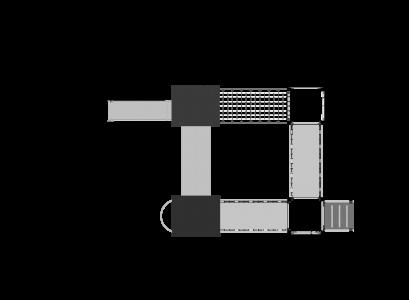 Rotaļu komplekss BRL48