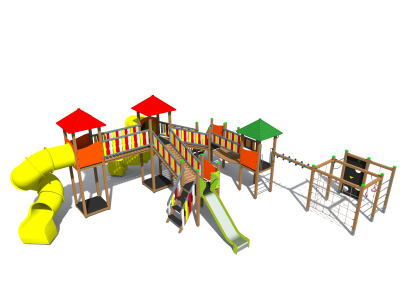 Rotaļu komplekss BRL5001