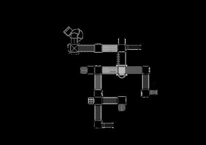 Rotaļu komplekss BRL51