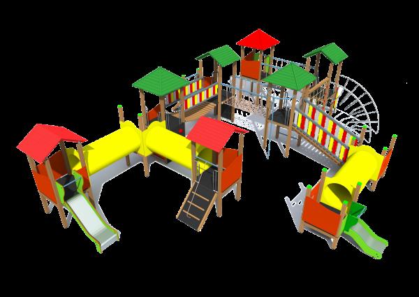 Rotaļu komplekss BRL9001