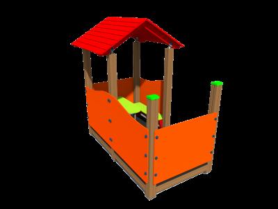 Bērnu mājiņa MA3