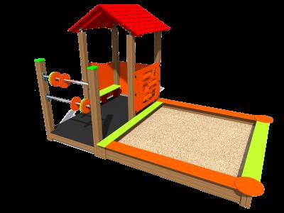Bērnu mājiņa MA4 SK1