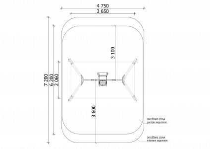 Divvietīgās šūpoles SUP5