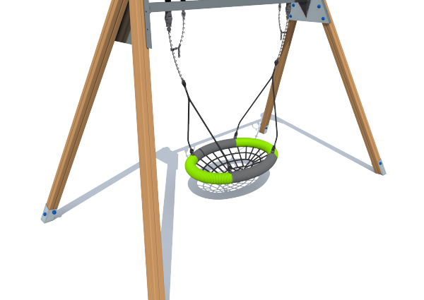 Šūpoles ar grozu SUP3