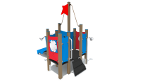"""NW030 play equipment """"small ship"""""""