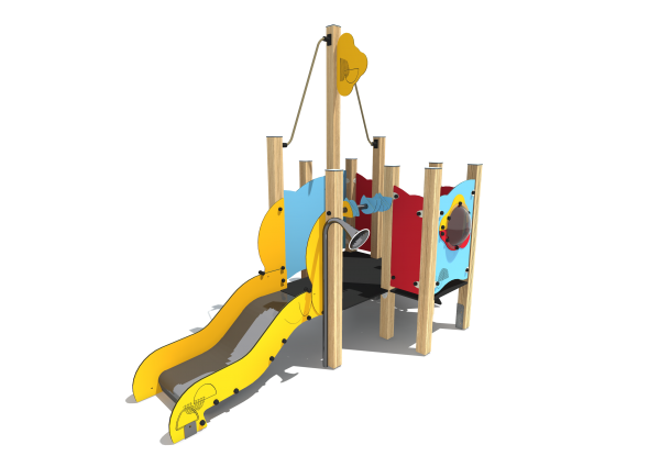 "SE030 play equipment ""small ship"""