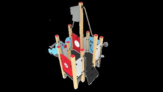 """SEA030 rotaļu komplekss """"kuģītis"""""""
